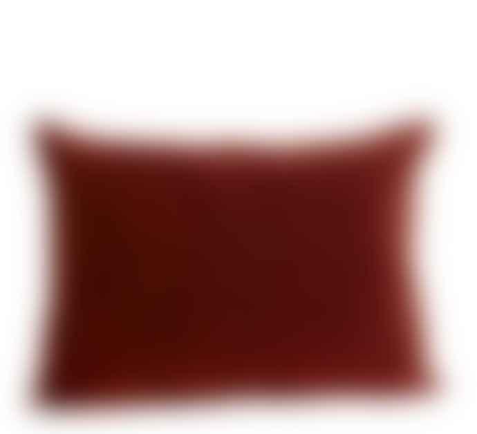 Madam Stoltz Yellow Sumptuous  Velvet Cushion