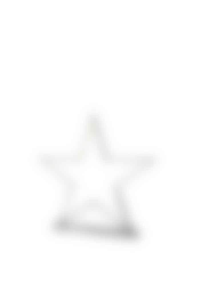 Nordium Small Chrome Star Table Lamp