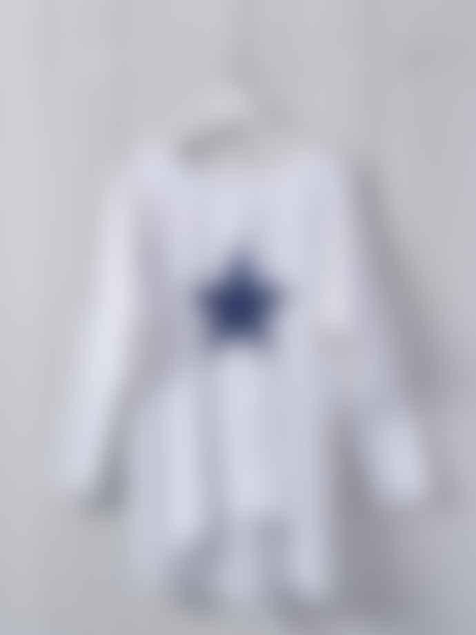 Chalk UK Cotton Jersey Star Top