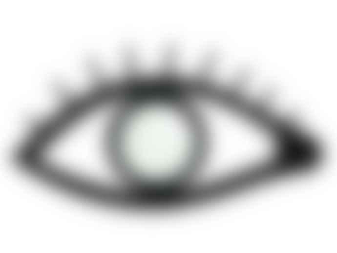 Bitten Design  Black Eyeloop Magnifying Glass