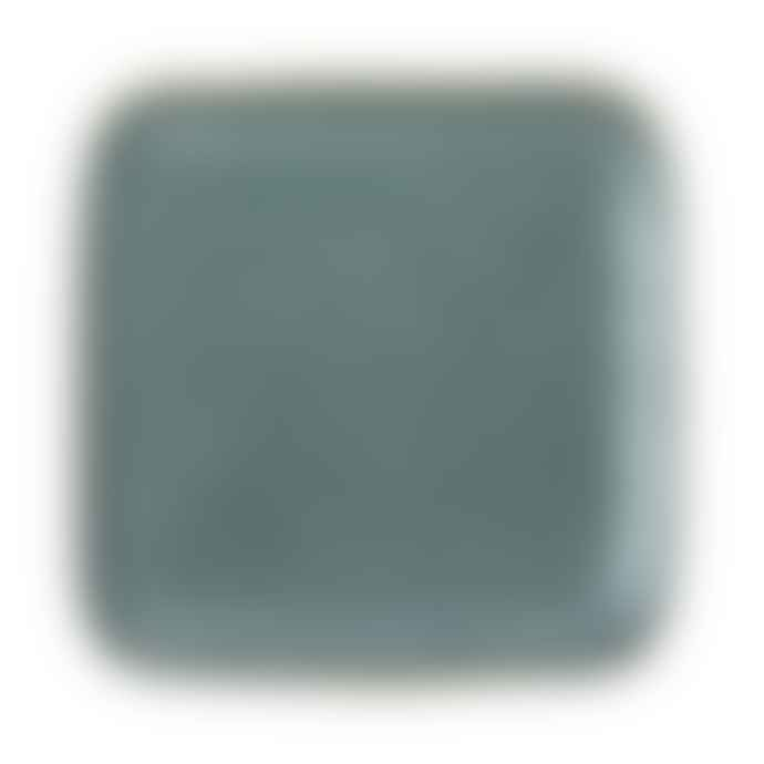 Bloomingville Green Stoneware Aime Plate