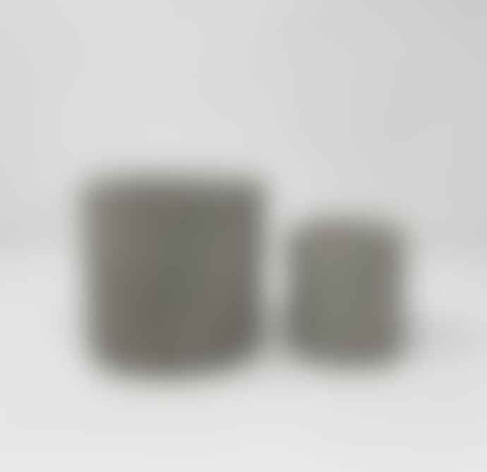 Conpot Small Limestone & Concrete Pot