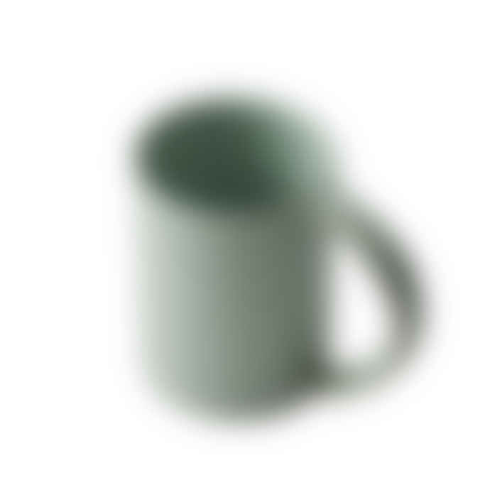 Gonggi Oblong Tall Mug in Celadon Green