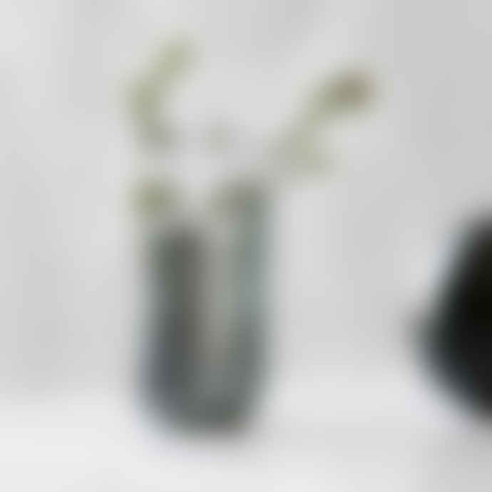 House Doctor Green Steel Planter Style Vase