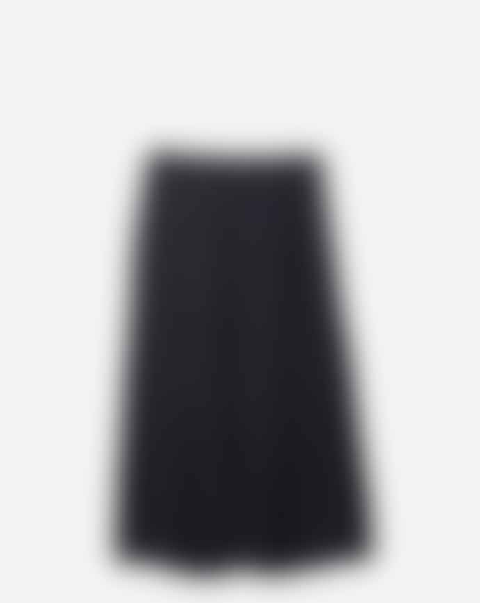 Filippa K Black Kate Knee Length Skirt