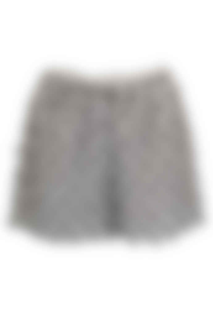 Jovonna London Grey Loulou Feathered Short