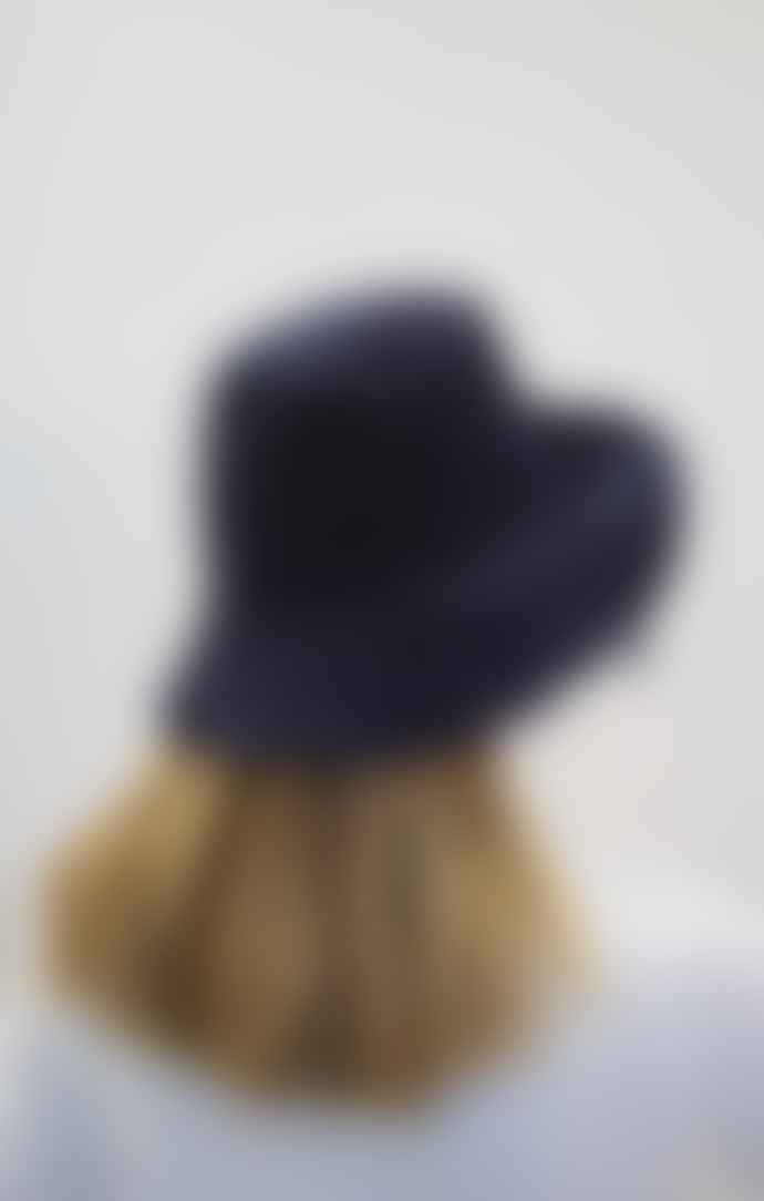 Collection & Co Eva Navy Up Cycled Cotton Hat