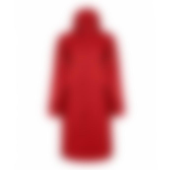 Maium  Deep Red Raincoat X Poncho For Women &  Men