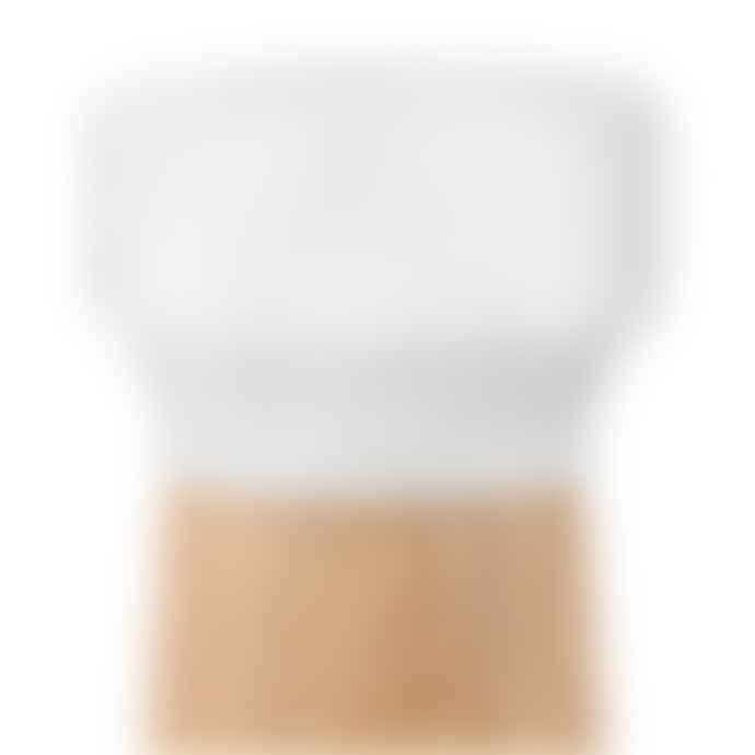 Normann Copenhagen Small White Oak Craft Salt Shaker