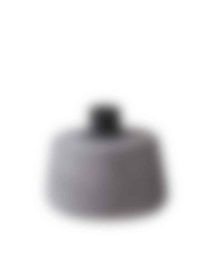 Korridor Cone Candle Holder, SHORT pink and grey
