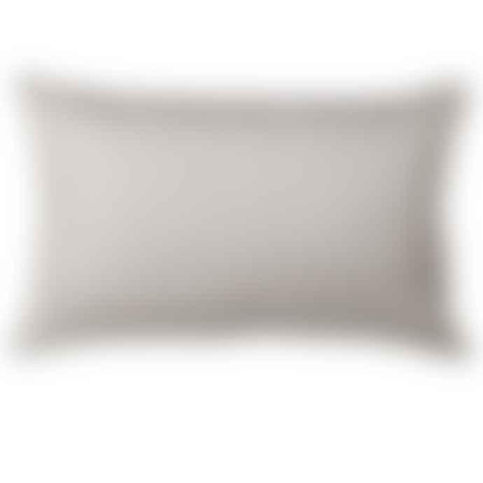Sage Velvet And Linen Cushion