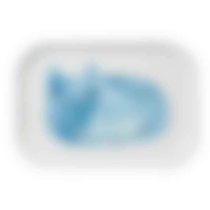 Donna Wilson Blue Cat Mini Tray