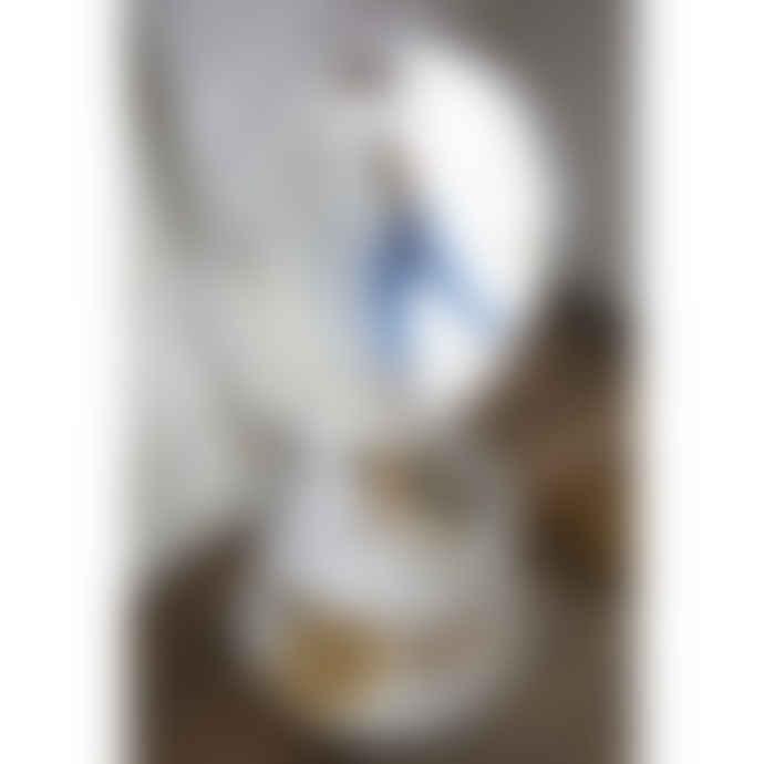 Yamazaki Tosca Swivel Makeup Mirror With 2 Trays In White