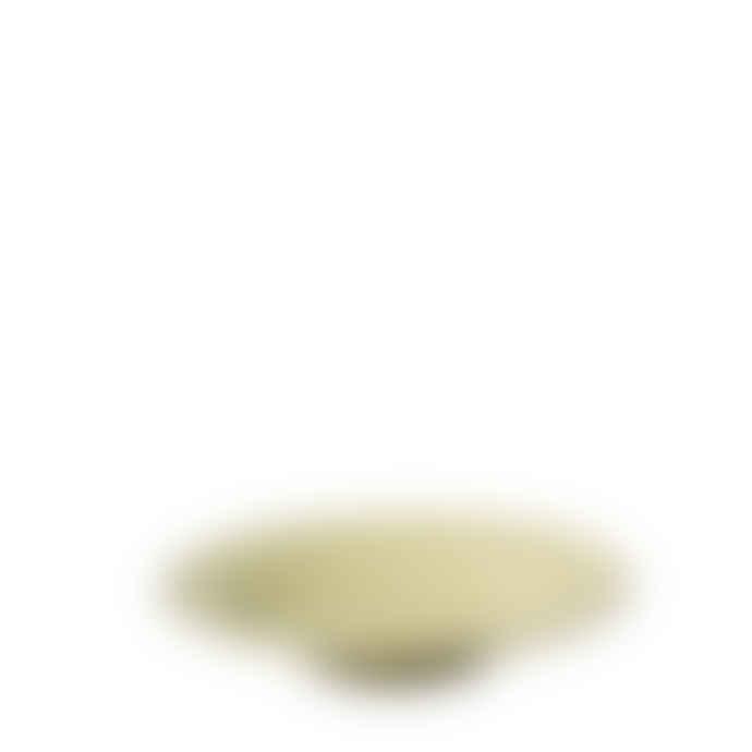Karin Eriksson Small Soft Yellow Hand Thrown Ceramic Plate