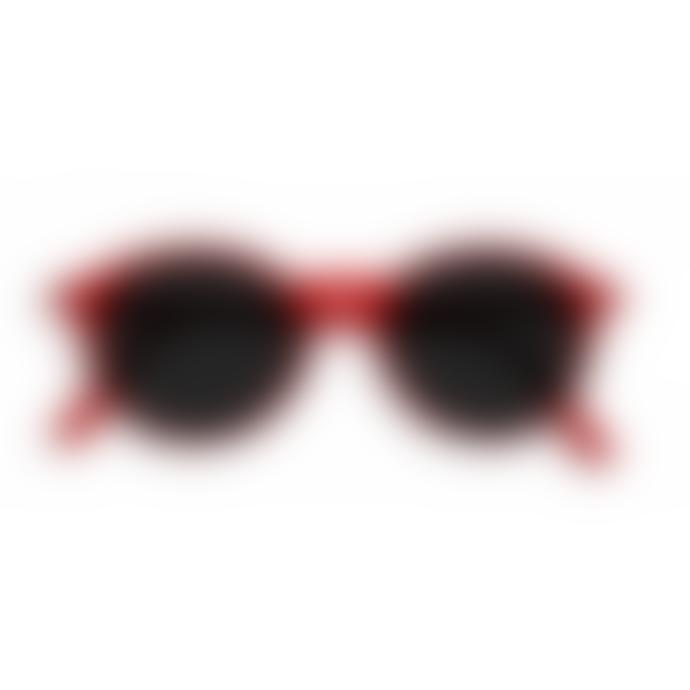 IZIPIZI D Shape Red Sunglasses