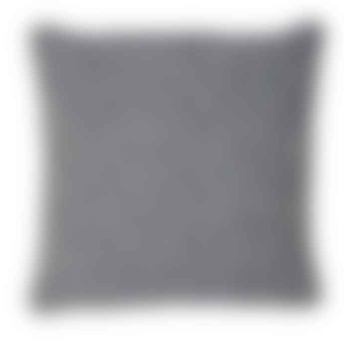 Weaver Green Navy 45cm Sq Provence Indoor / Outdoor Cushion