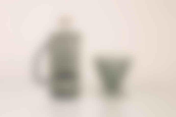 Yield Design Grey Glass French Press / Coffee Press 850ml