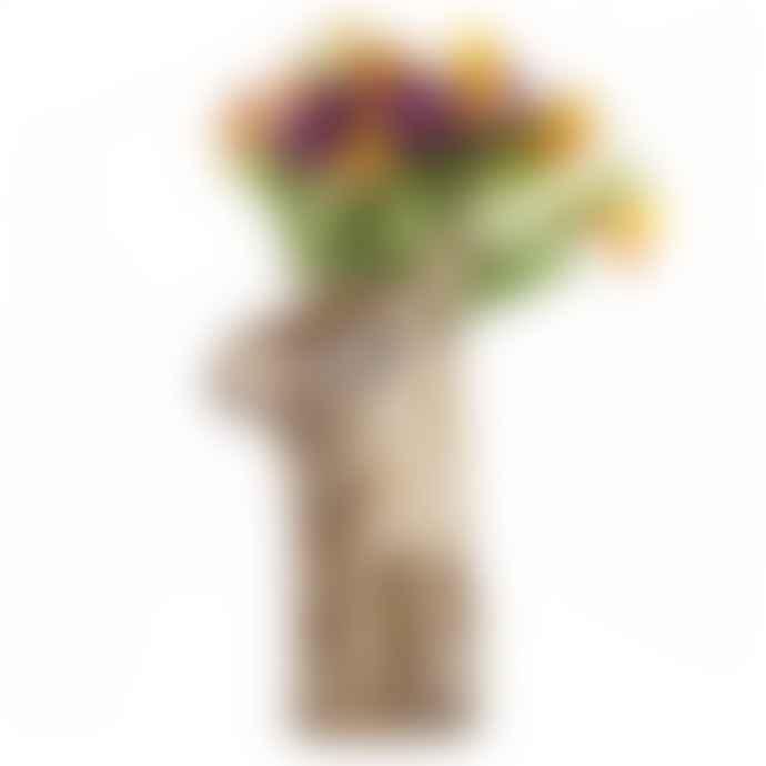 Quail Ceramics Moose Tall Flower Vase