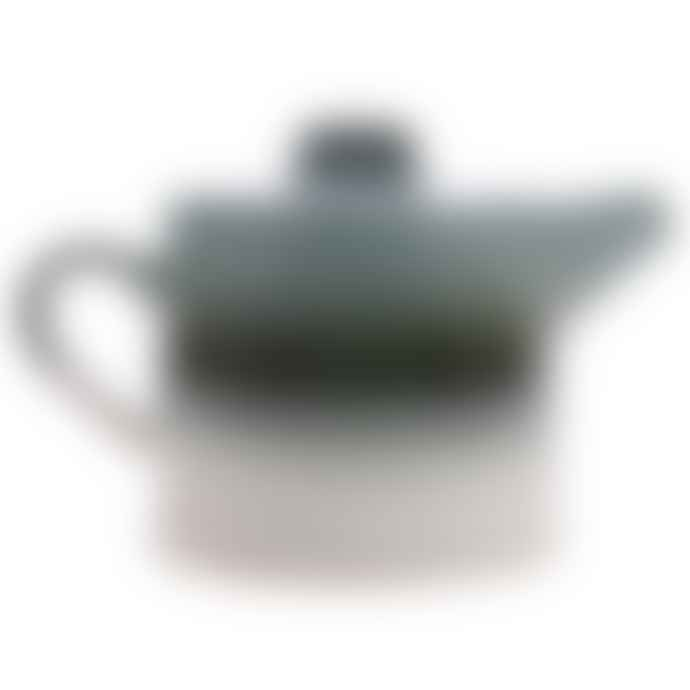 HKliving Ceramic 70's Glacier Tea Pot