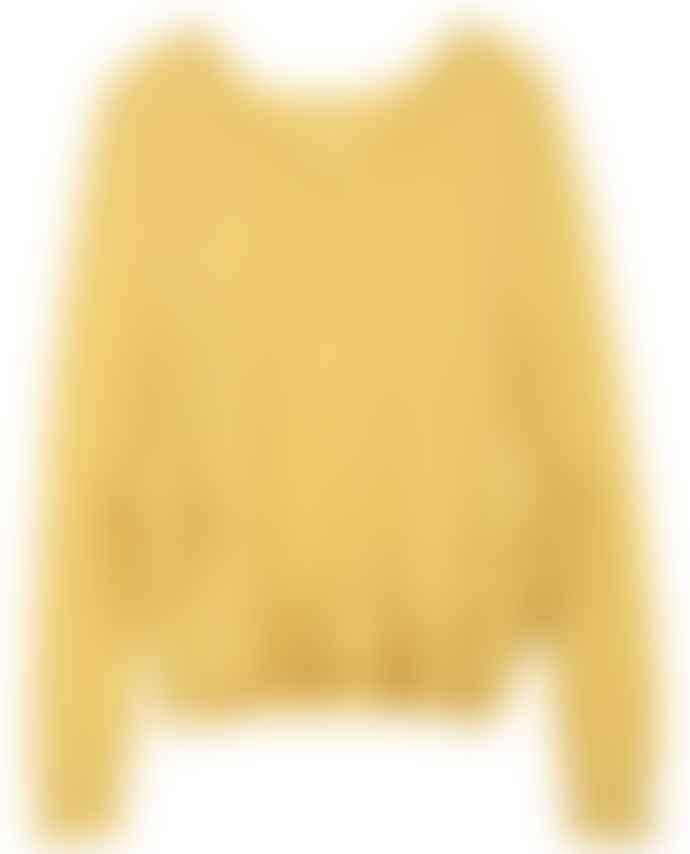 Leon & Harper Laurel Frill Sweater