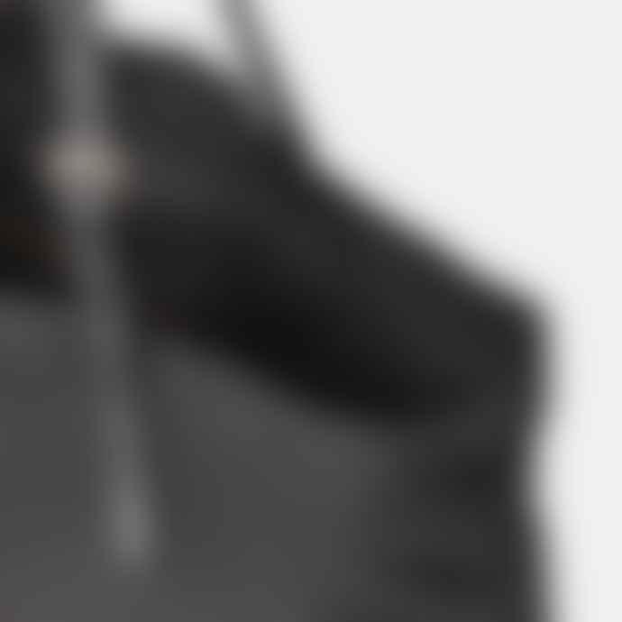 Ally Capellino Natalie Waxed Cotton Tote in Black