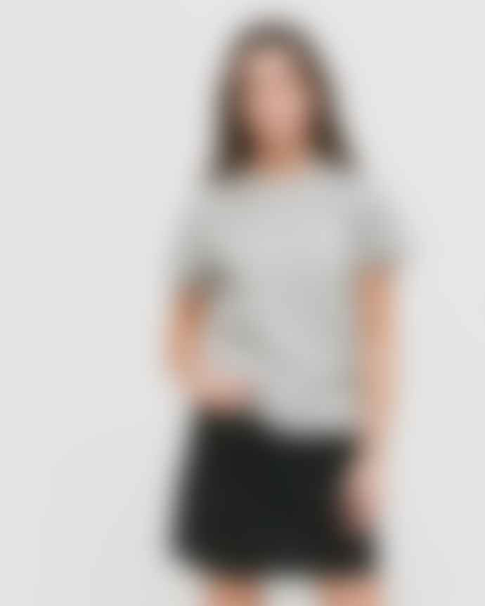 WEMOTO King Cropped Heather Grey t-shirt