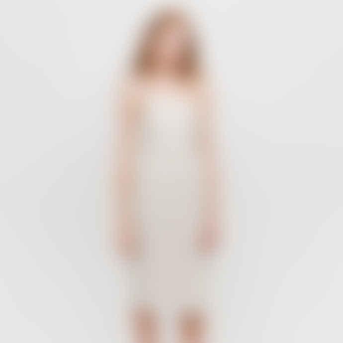 Diarte Gray Stripes Cesar Dress