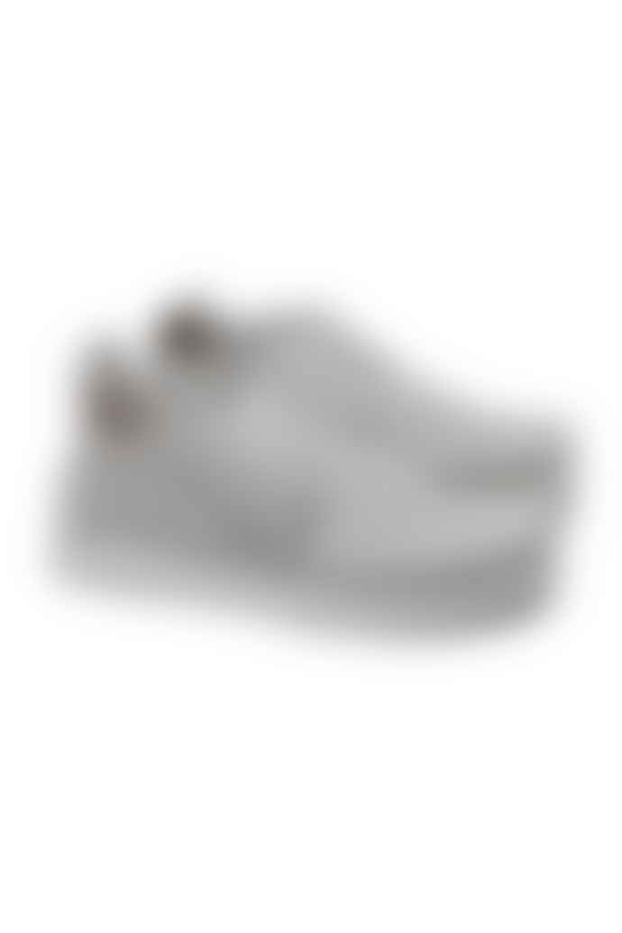 Clarks Originals White Seven Suede Shoes