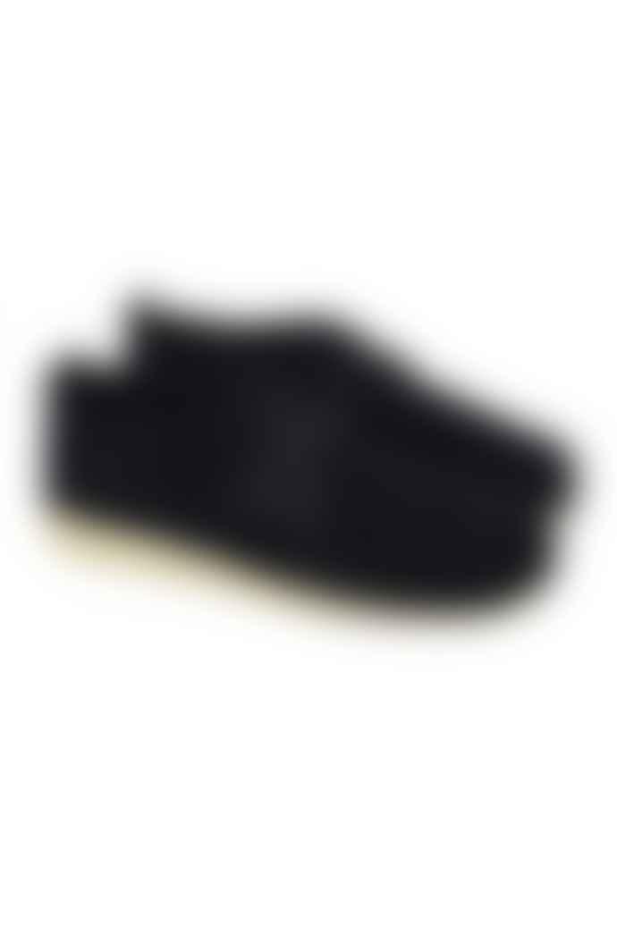 Clarks Originals Black Ashton Suede Shoes