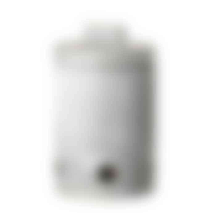 Bloomingville Hazel Garlic Jar Grey Stoneware