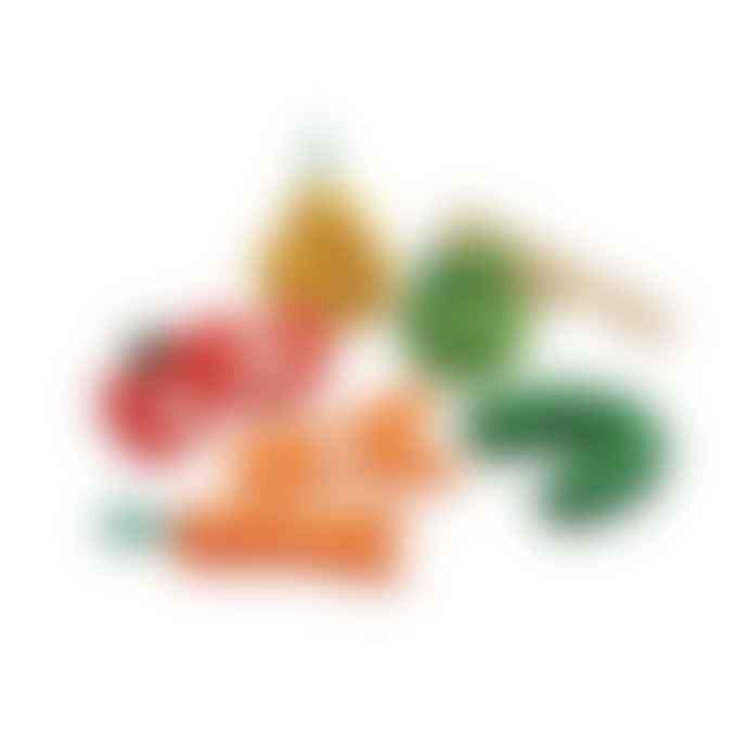 Plan Toys Wonky Fruit And Vegetables Set