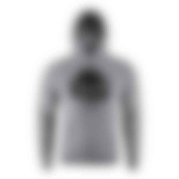Kappa Grey White Hurtado 222 Banda Hooded Sweatshirt