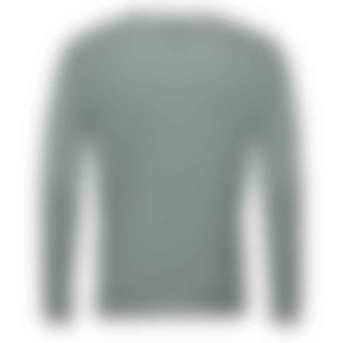 SamsoeSamsoe Mallard Green Ernie O Neck Sweatshirt