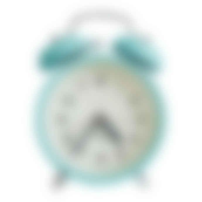 Newgate Aquamarine Charlie Bell Echo Alarm Clock