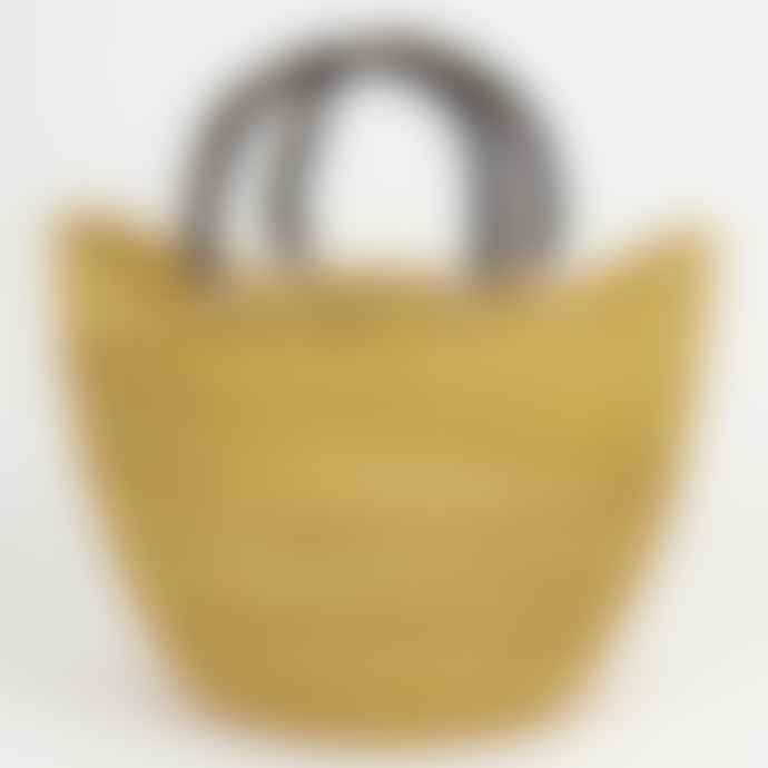 Afro Art Natural Bolga Shopping Basket