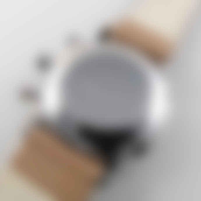Junghans Max Bill Chronoscope Ref. 027/4502.00 steel mechanical automatic chronograph wristwatch