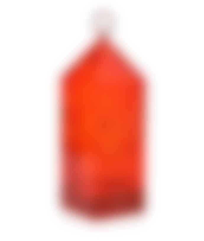 Kartell Red Lantern Portable LED Lamp