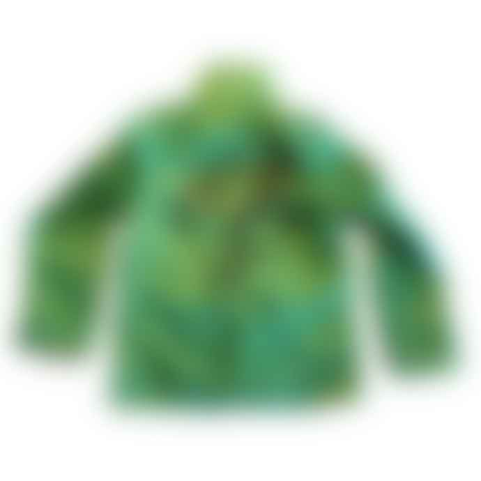 Moonkids Green Eagle Print Jacket By