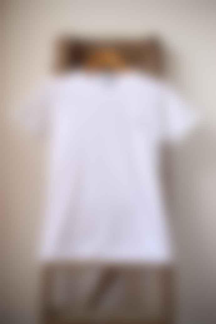 Bella Freud  White Embroidered Dog T Shirt