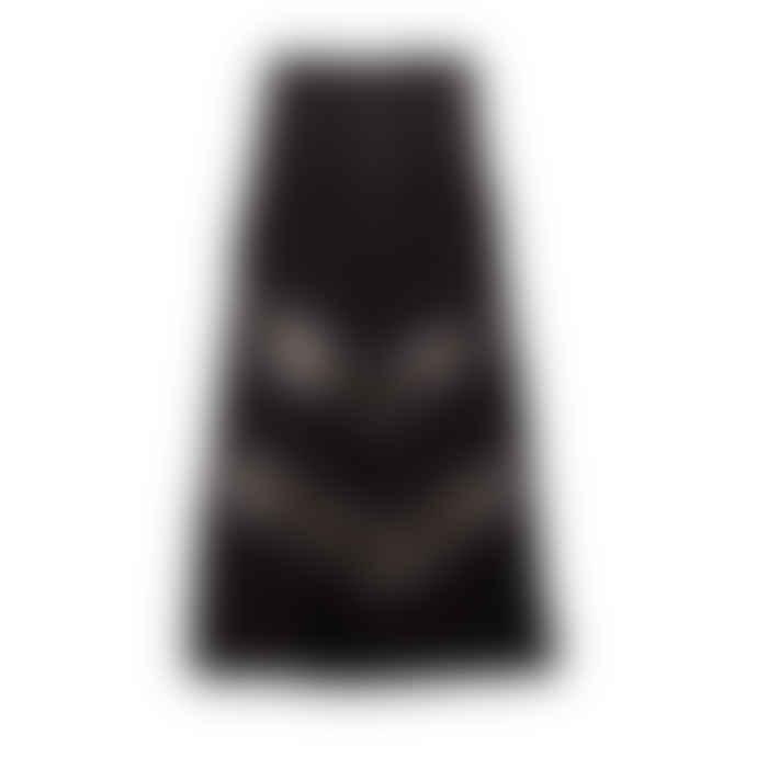 POP Copenhagen Black Lace & Georgette Skirt
