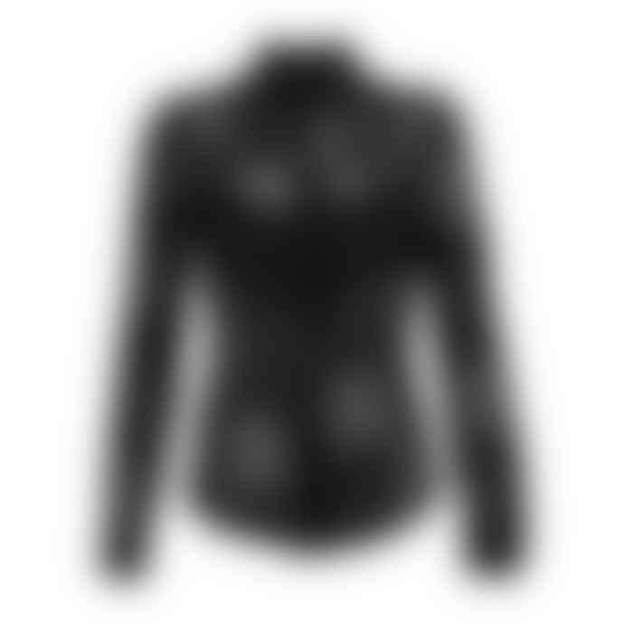 POP Copenhagen Black Lace & Georgette Shirt