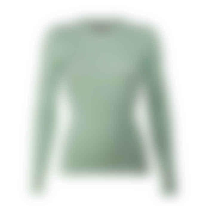 Storm & Marie Solid Mintgreen Knitted Longsleeve  Top