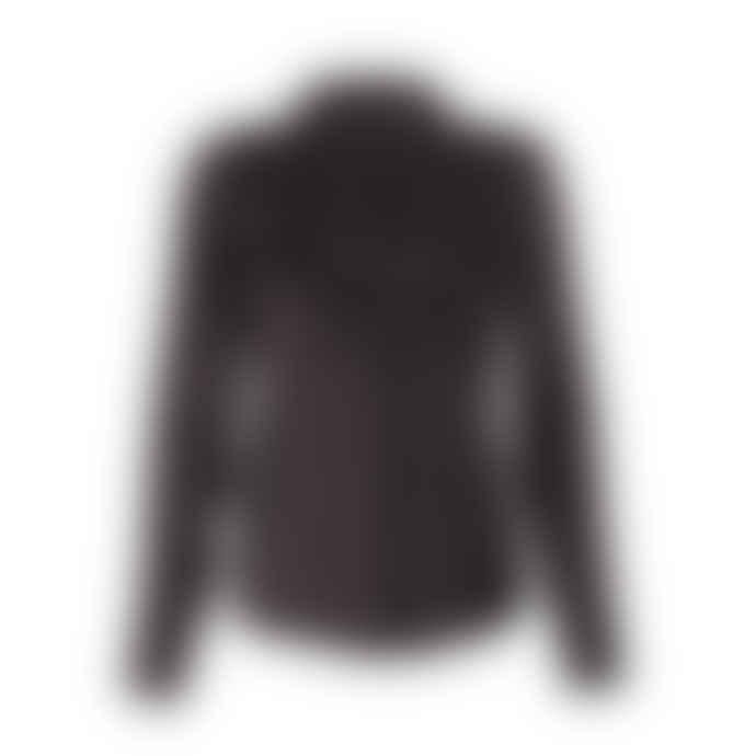 POP Copenhagen Ruffled Silk Shirt