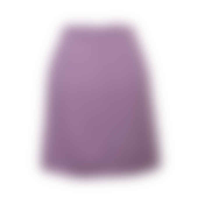 POP Copenhagen Lilac Silk Skirt