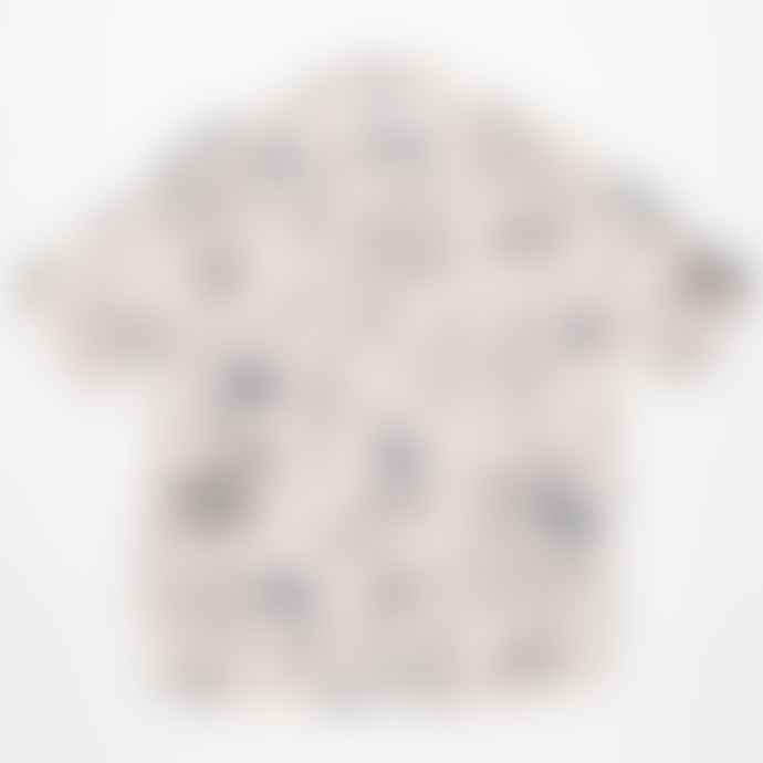 Portuguese Flannel Andorinha Short Sleeved Printed Shirt