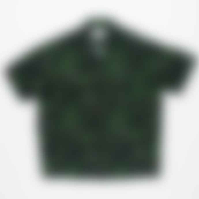 Portuguese Flannel Cactus Short Sleeved Printed Shirt