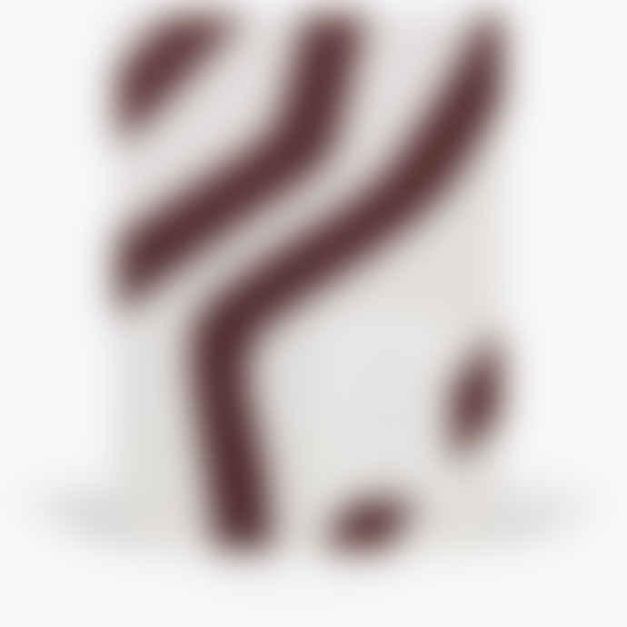 NOTEM VITA Medium Bordeaux Waves Notebook