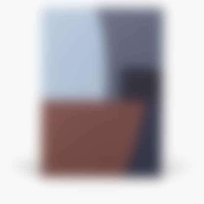 NOTEM Large Notepad, Midnight Shapes