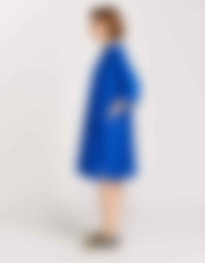 Bellerose One Size Blue Cotton Cosmo Dress