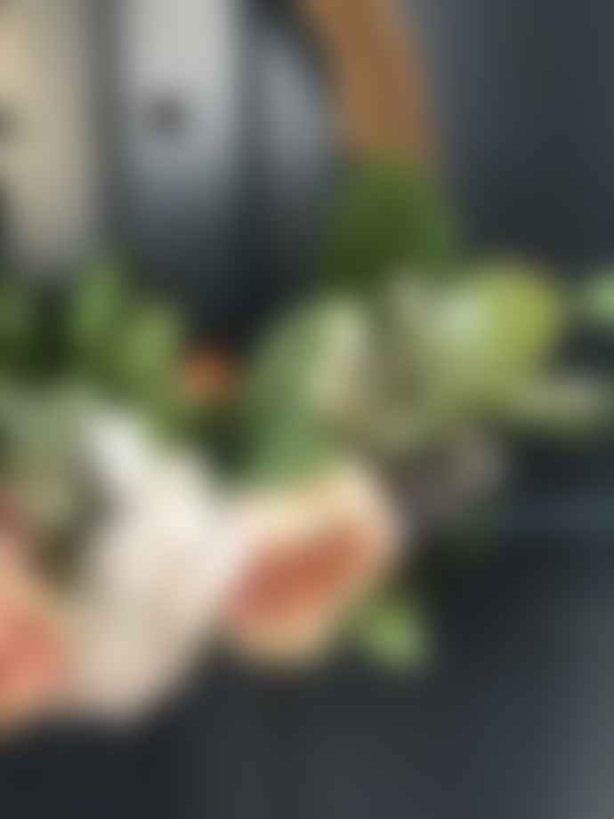 Homewood & Rose Bespoke Spring Bloom Faux Floral Wreath Style 1
